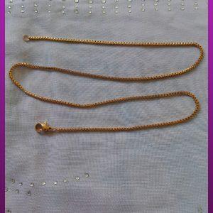 زنجیر طلایی استیل