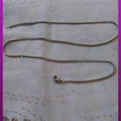 زنجیر نقره ای استیل