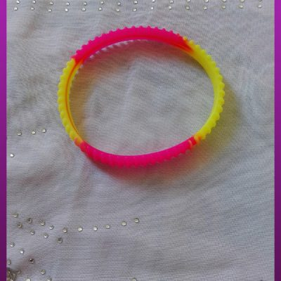دستبند رنگی پلاستیکی