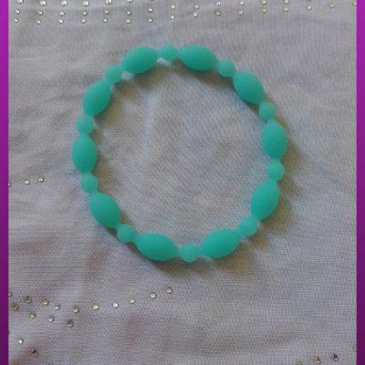دستبند آبی شبرنگ