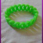 دستبند سبز پلاستیکی
