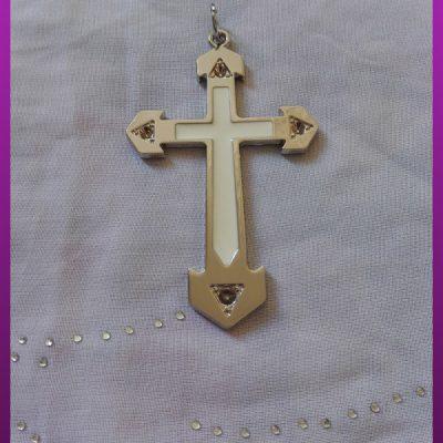 پلاک صلیب بزرگ استیل