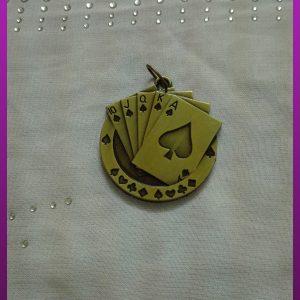 پلاک کارت طلایی