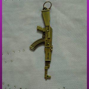 پلاک تفنگ طلایی