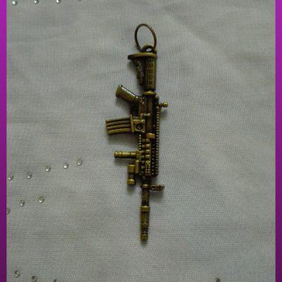پلاک اسلحه طلایی