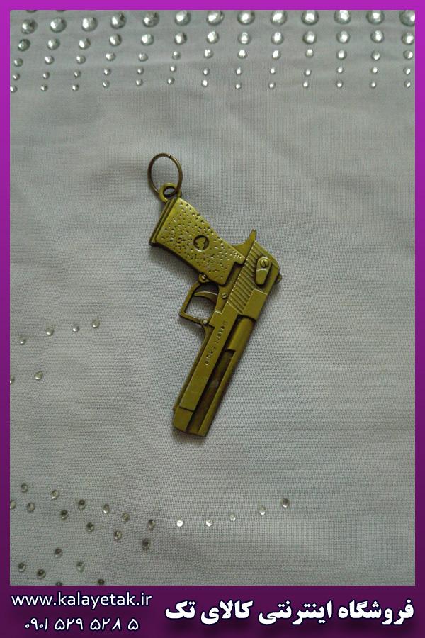 پلاک کلت طلایی