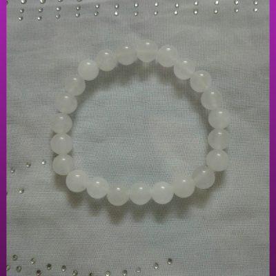 دستبند سنگی سفید
