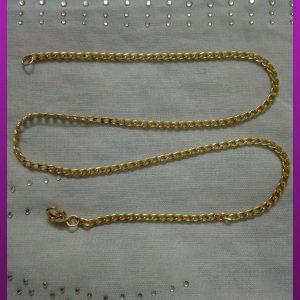 زنجیر کارتیه طلایی استیل