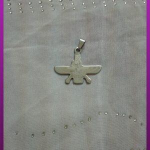 پلاک فروهر چاپی استیل
