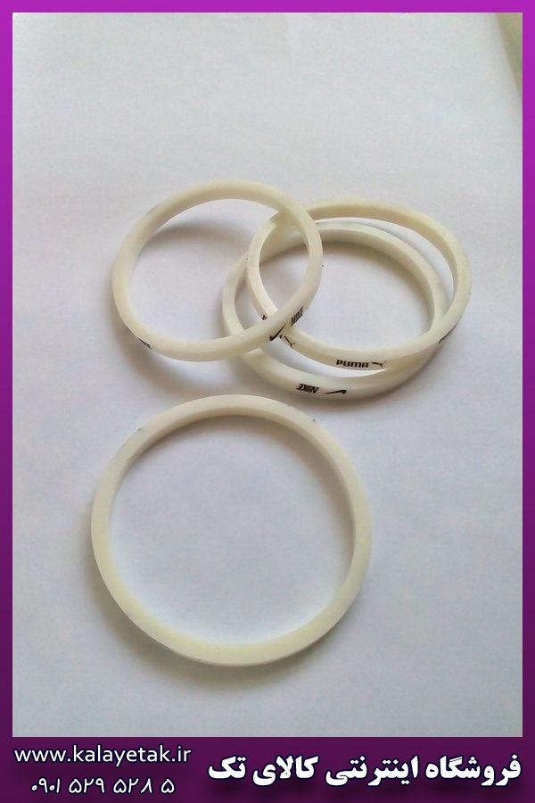 دستبند پلاستیکی سفید