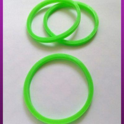 دستبند پلاستیکی سبز