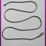 زنجیر بلند پیوسته نقره ای استیل