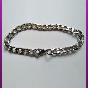 دستبند نقره ای کارتیه استیل