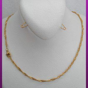 زنجیر پیچی طلایی استیل