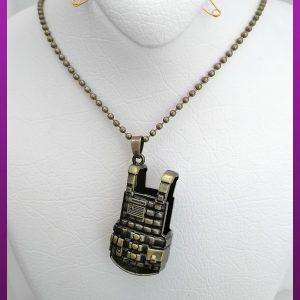 گردنبند زنجیری لباس جنگی