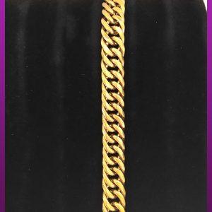 دستبند کارتیه طلایی استیل