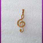 پلاک سل طلایی استیل