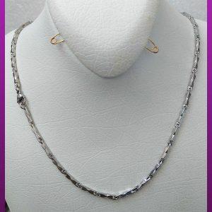 زنجیر دالبردار نقره ای استیل