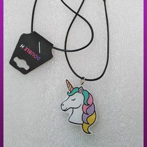 گردنبند اسب شاخ دار رنگی