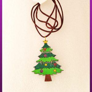 گردنبند درخت کریسمس