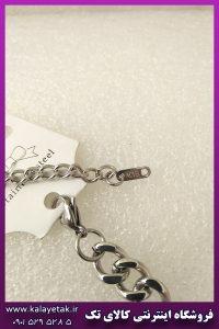 دستبند بولگاری نقره ای استیل