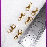 قفل طوطی طلایی استیل