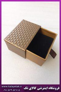 جعبه هاردباکس کشویی قهوه ای