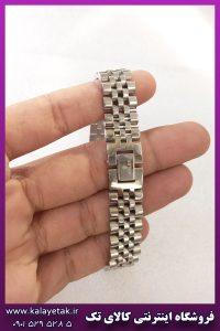 دستبند رولکس نقره ای استیل